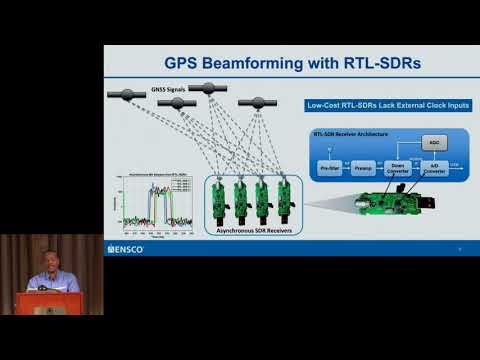 GRCon17 - GPS Beamforming with Low-Cost RTL-SDRs - Wil Myrick