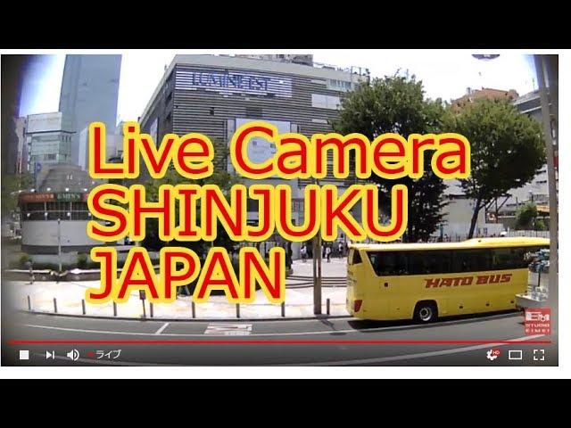 【LIVE CAMERA】新宿東口 ライブ映像 Shinuku ALTA scramble crossing 「STUDIOEIMEIが運営するライブカメラ。