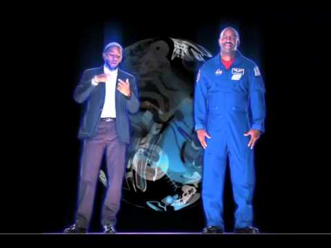 Holographic Appearance of NASA Astronaut Leland Melvin & Mos