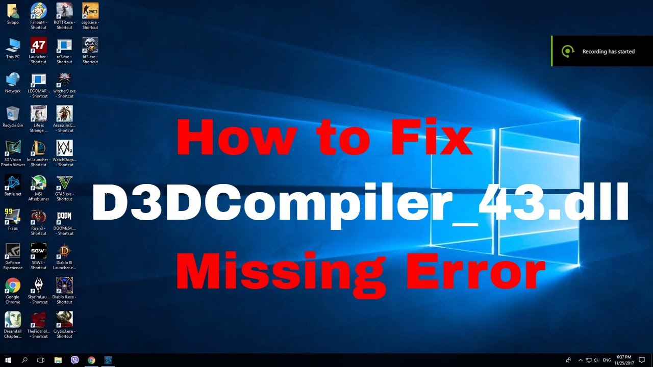 d3dcompiler 43.dll gta 5