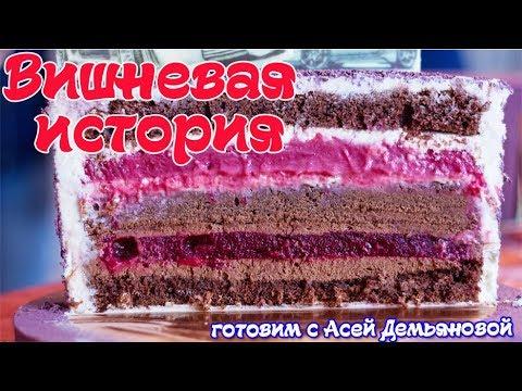вишневое компоте для торта