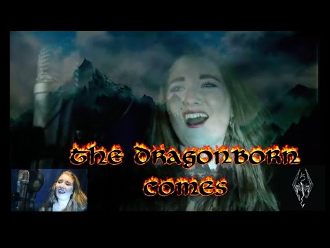 🐲 Skyrim-The Dragonborn Comes-Cover