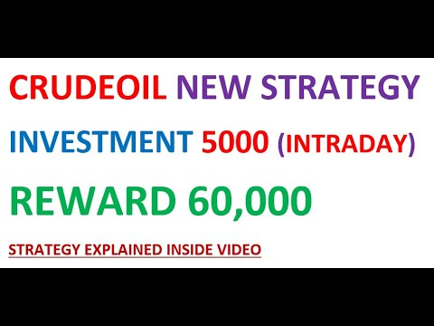 CRUDEOIL NEW STRATEGY INVESTMENT 5000 REWARD 60000 22 DAYS