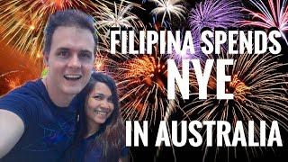Shanta celebrates New Year's Eve in Australia!