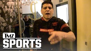 Nick Diaz Says He was 'Poisoned' Before 2013 George St-Pierre Fight | TMZ Sports
