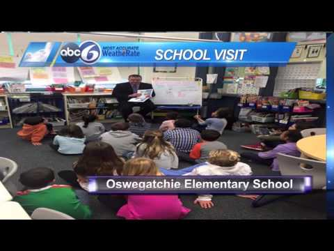Jeff Desnoyers Visits Oswegatchie Elementary School