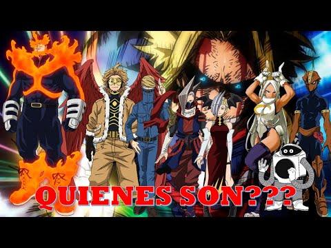 Ranking Top 10 Héroes Profesionales Análisis Y Curiosidades Boku No Hero Academia Youtube