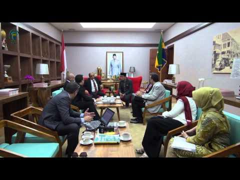 150306 Menerima Kunjungan Baghdad Governorate Council
