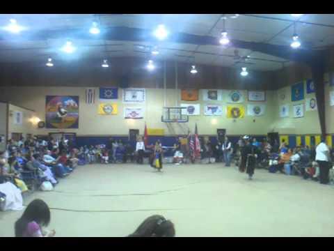 Kicking horse job corps powwow womens tradtional cloth - YouTube