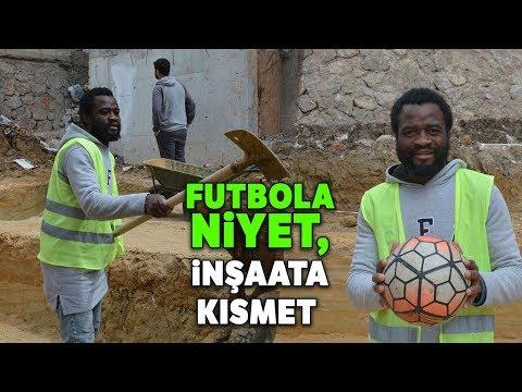 Futbol Oynamak İçin Geldiği Sinop'ta Gündelik İşlerde Çalışıyor