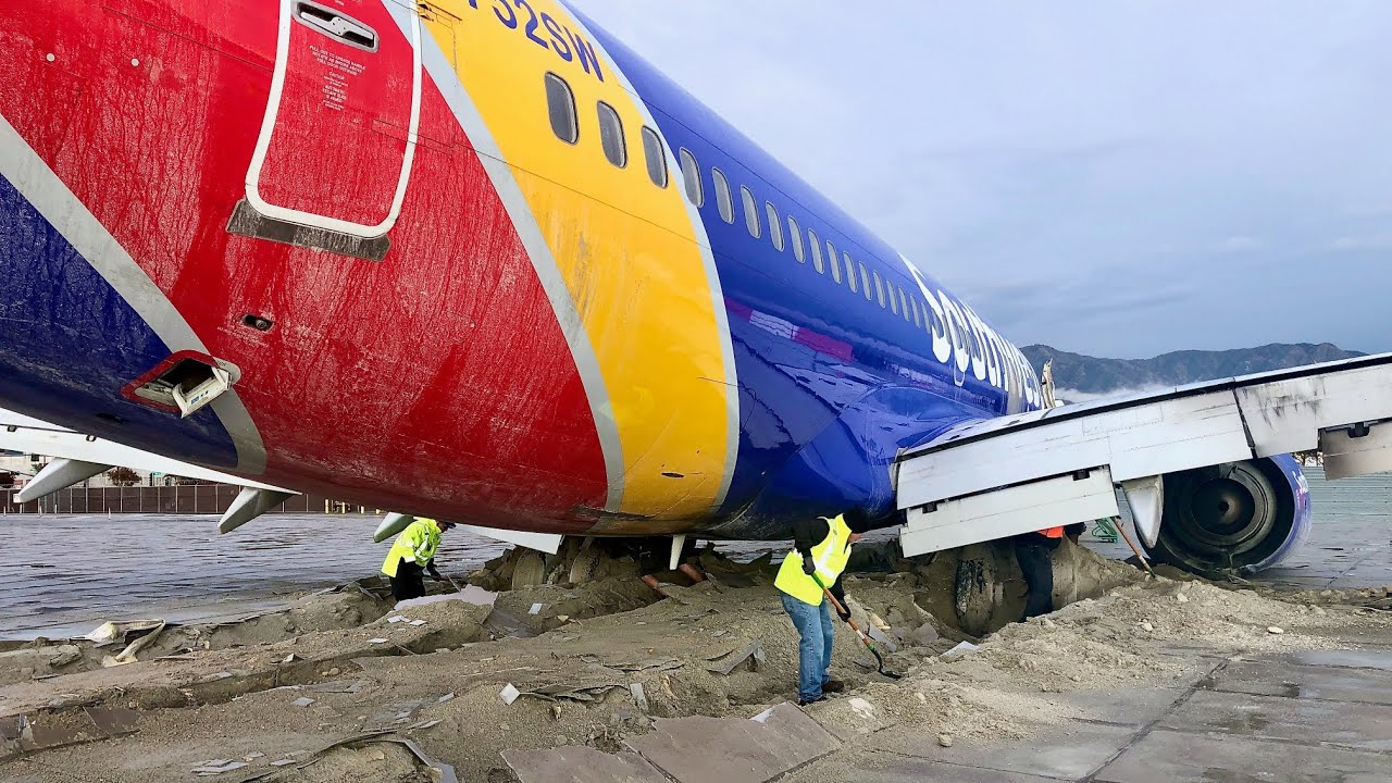 Download Southwest Airlines 737 Runway Overrun at Burbank