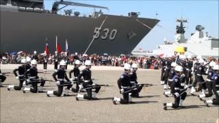 中國海軍儀隊 非中国海军仪队