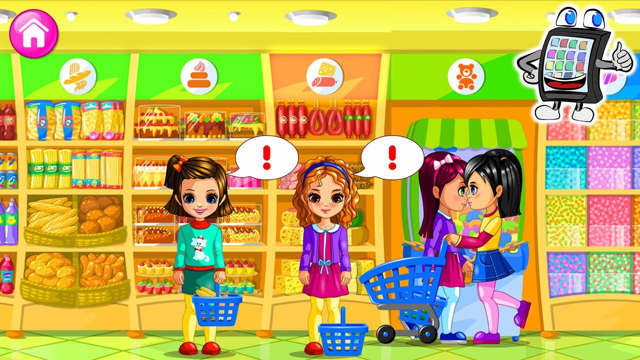 Spiel Supermarkt