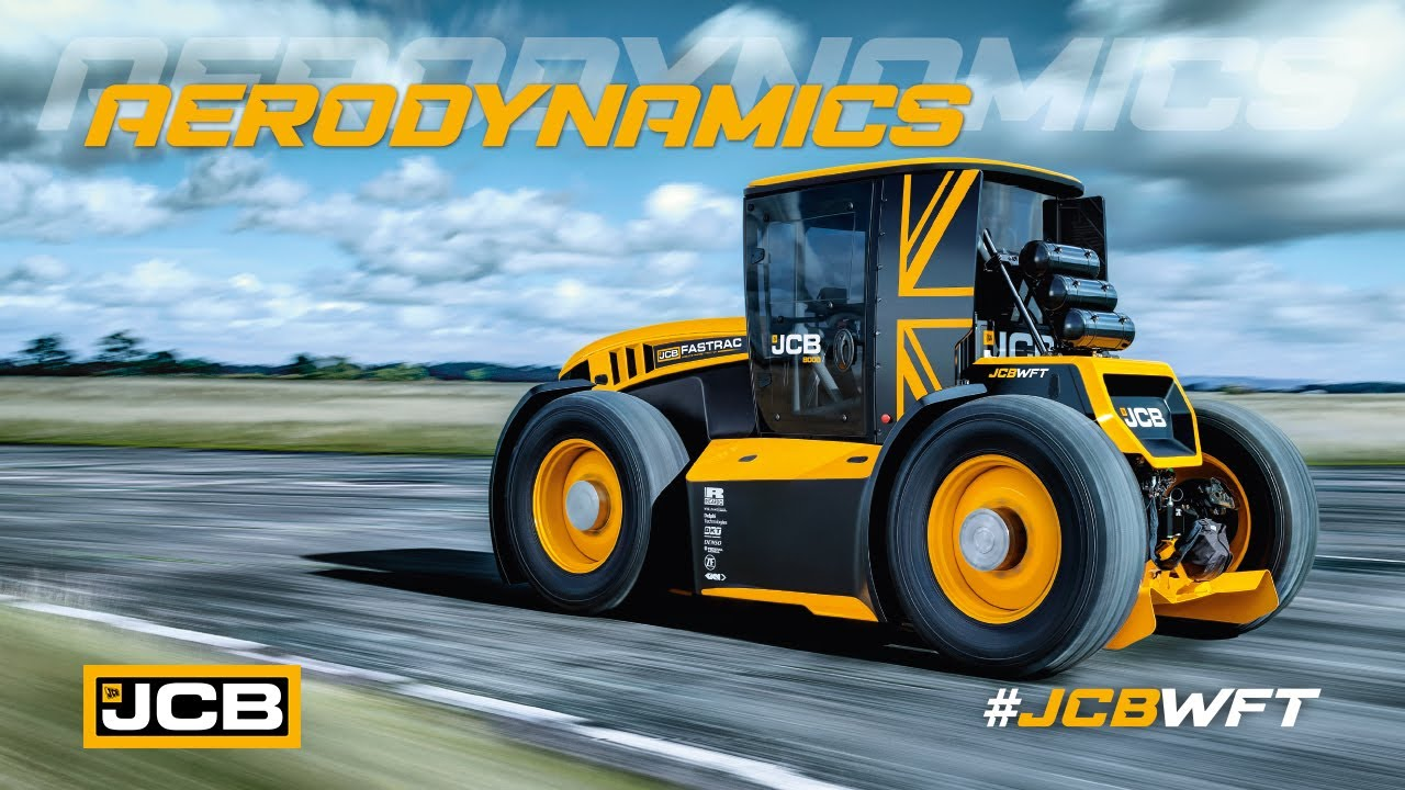 Aerodynamics - JCB WFT Fastrac, the World's Fastest Tractor
