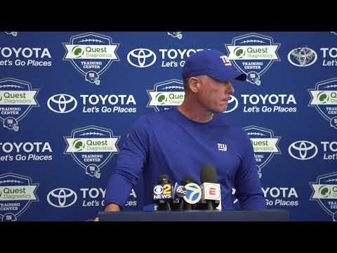 Pat Shurmur discusses Start Of Training Camp and looking Forward to the 2018 Season