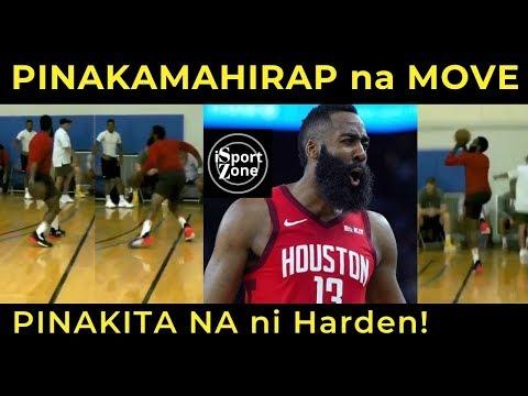 GAME OVER NA! JAMES HARDEN, IPINAKITA NA ANG PINAKABAGONG MOVE. Ang HIRAP Gayahin!