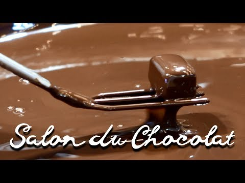 Salon du Chocolat Chocolate Festival Expo, Paris 2017