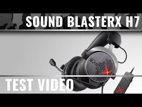Creative Sound BlasterX H7 Test Video - 7.1 Gaming Headset (German Review)