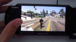 GTA 5 на PSP (PSPDisp)