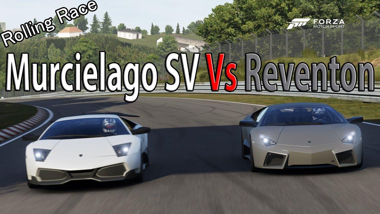 Lamborghini reventon vs lamborghini aventador