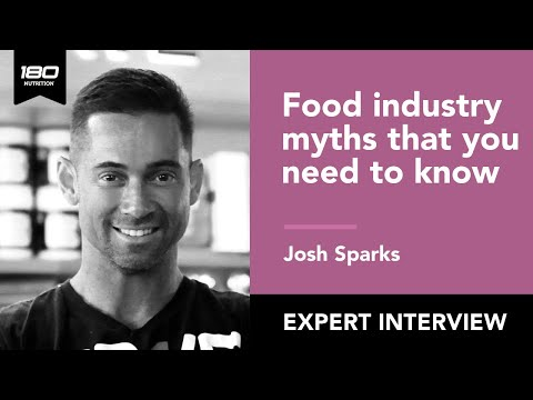 Josh Sparks: The Rights & Wrongs Of The Food Industry & Fat Loss Tips For The Time Poor