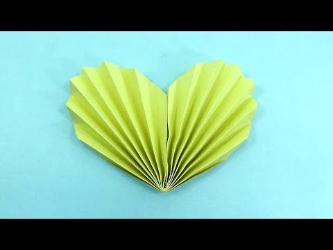 How To Make Diy Heart Bookmarks - Origami Heart Corner Bookmark Making Instruction - Valentine's Day