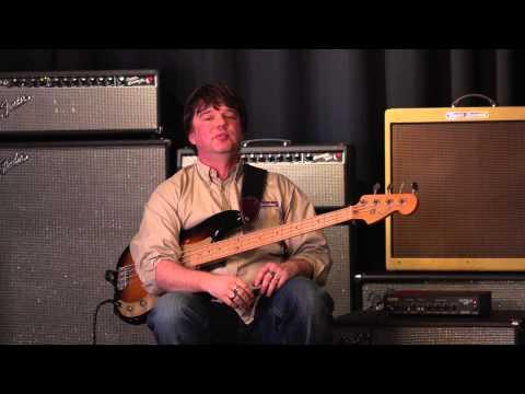 Fender Rumble 150, Bassman '59 LTD and Bassman 100T bass amps demoed