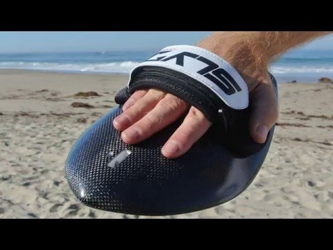 Slyde Handboards: Bula Carbon Black Bodysurfing Handboard