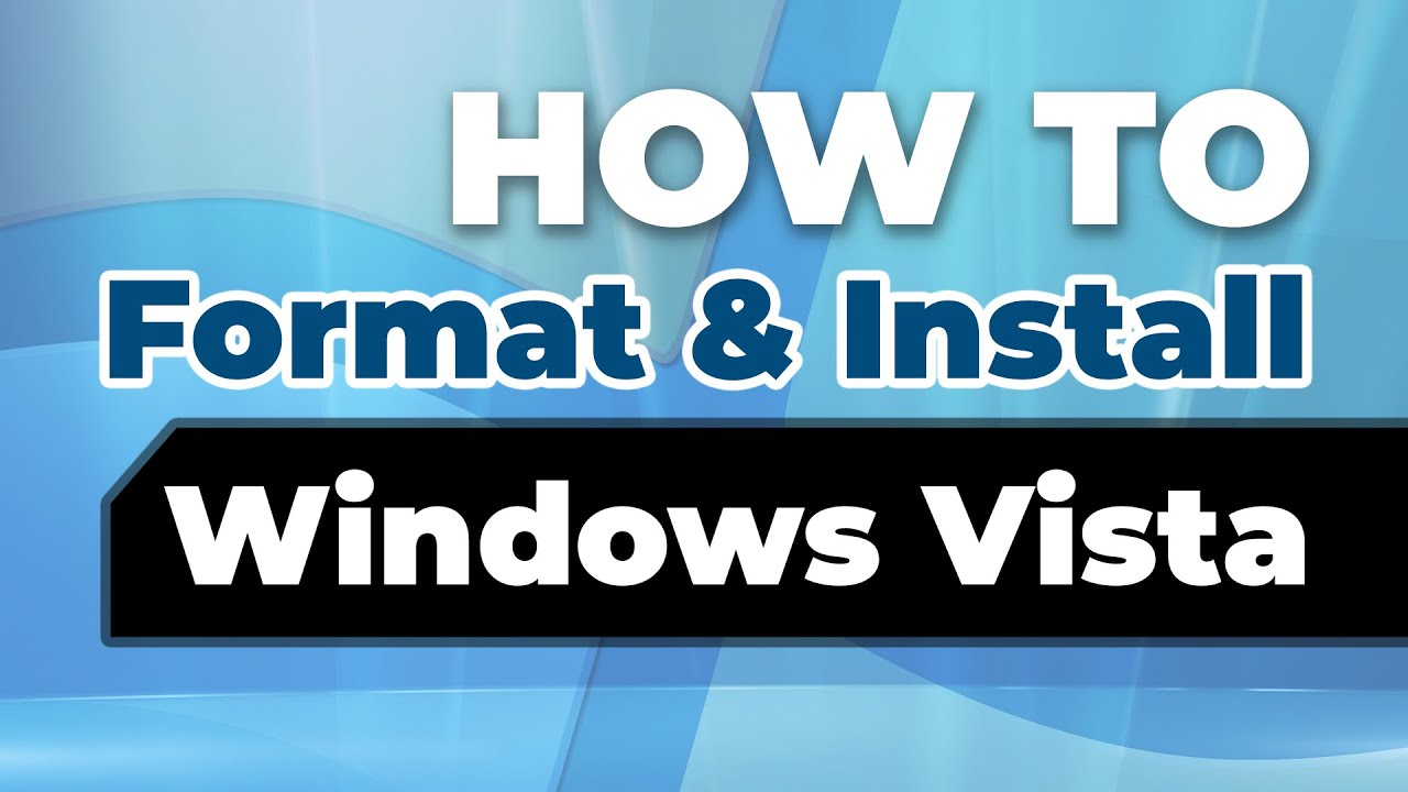 How do you format and reinstall windows vista does reinstalling windows xp delete virus