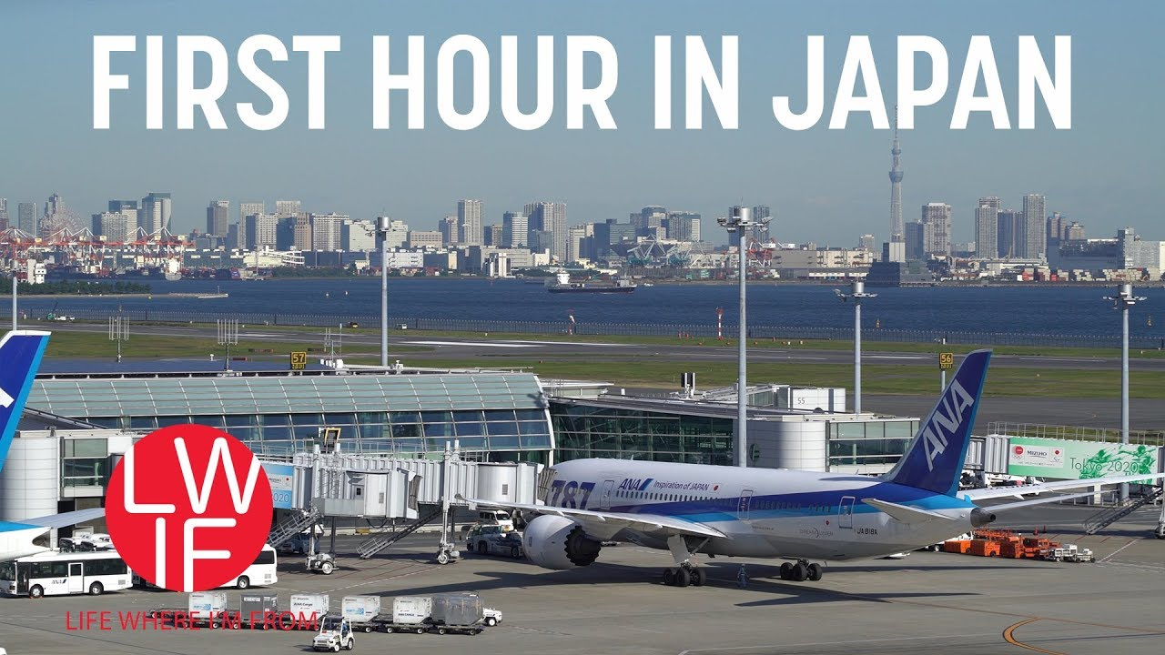 A Guide to Your First Hour in Tokyo, Japan