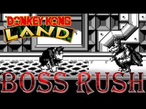 Donkey Kong Land - Boss Rush (All Boss Fights, No Damage)