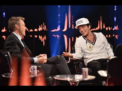 Interview with Bruno Mars Thats the hardest question anyone has ever asked me