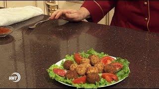 Какое блюдо можно приготовить из куриного фарша и муки?