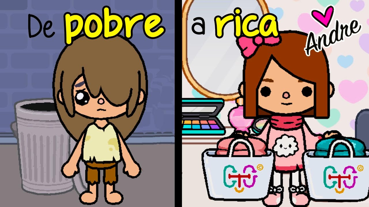 Download De POBRE a RICA en TOCA LIFE WORLD | Andre se hace gamer juegos en español