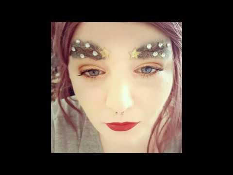 Christmas Tree Eyebrows.Christmas Tree Eyebrows Crazy Trends Of Instagran Brows Tutorial New Trend Hd
