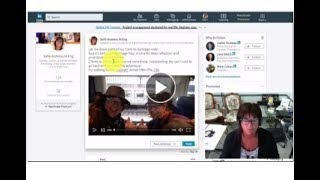 #DigitalMarketingTip Videos! New LinkedIn Feature! Get 5 TIMES the Reach!