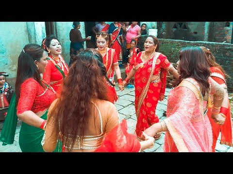 This is how Nepalese women celebrates TEEJ FESTIVAL !!Vlog#4