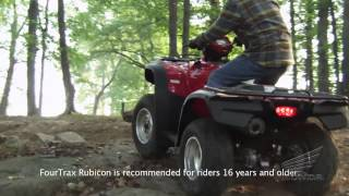 Choosing the Honda Utility ATV That