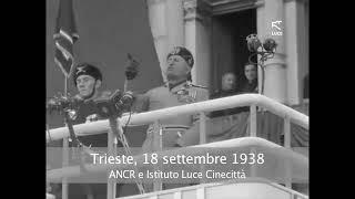 Il discorso di Mussolini a Trieste del 18 settembre 1938