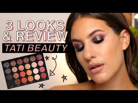 TATI BEAUTY PALETTE: 3 LOOKS & REVIEW - ALL of my thoughts! | Jamie Paige thumbnail