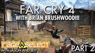The Dojo - Far Cry 4 - Part 2 WITH BRIAN BRUSHWOOD!!!