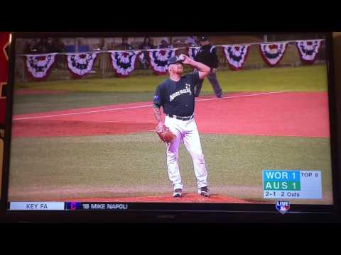 Scott Kelly At-Bat: 2016 Australian Baseball League All-Star Game