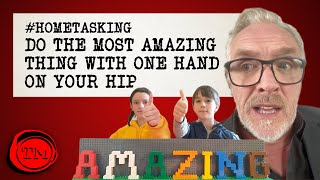 Do the Most Amazing Thing With One Hand on Your Hip | #HomeTasking #StayHome