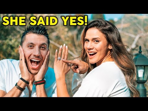 SHE SAID YES! **BEST PROPOSAL EVER** | The Royalty Family