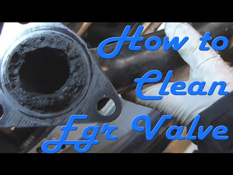 How to Clean EGR Valve (1.7 Full)