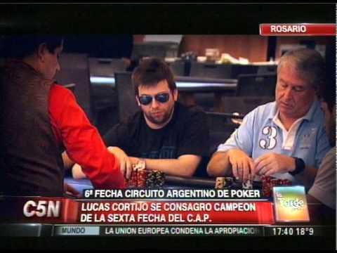 C5N - SOCIEDAD: SEXTA FECHA DEL CIRCUITO ARGENTINO DE POKER