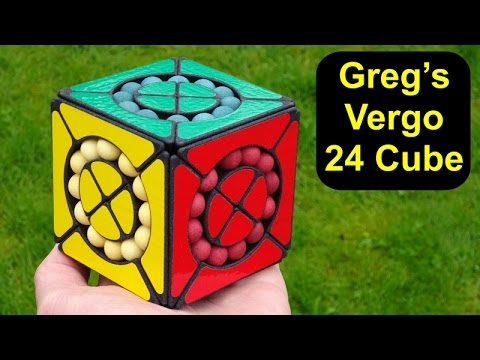 Greg's Vergo 24 Cube Puzzle (Little Chop With Balls!) Unboxing & Demo By Tony Fisher