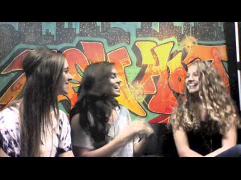 Megan & Liz interview at Teen Hoot