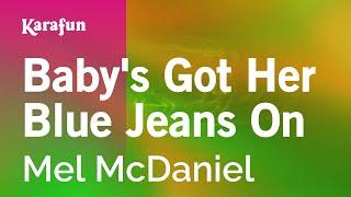 karaoke-baby-s-got-her-blue-jeans-on---mel-mcdaniel