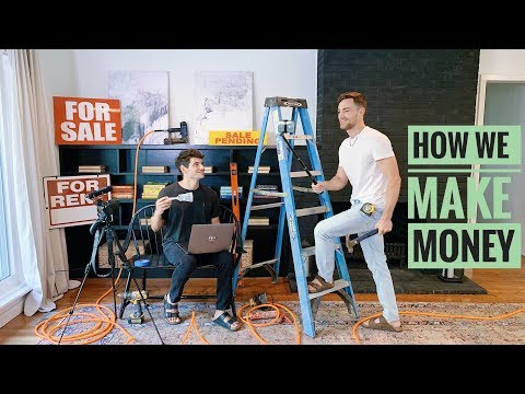 How We Make Money | Work Vlog | PJ and Thomas